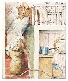 Tom Thumb and Hunca Munca from The Tale of Two Bad Mice (1904)