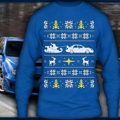 Subaru sweater