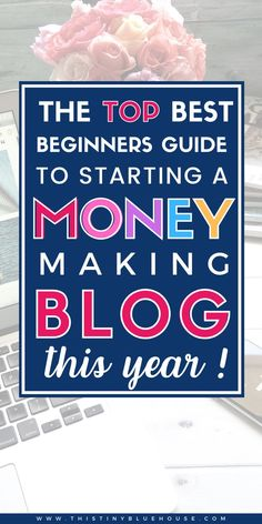 Jenny from This Tiny Blue House shares an easy to follow blog start tutorial and offers a FREE bonus email course to learn how to make money with a blog. Designed for beginners this tutorial and email course will help you create a successful blog this year. #howtostartablog #howtomakemoneywithablog #howtocreateasuccessfulblog #howtoturnablogintoafulltimejob #howtoblogformoney #howtoearnmoneyfromamomblog #howtobecomeamomblogger #howtoeasilystartablog #bloggingforbeginners #howtoblogfornewbies How To Create A Successful Blog, Make Blog, How To Start A Blog, How To Make, Way To Make Money, Make Money Online, Work Opportunities, Be Your Own Boss, Work From Home Jobs