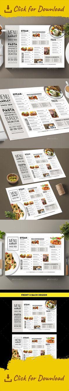 Restaurant Menu Card  Food Menu Food Menu Template And Menu