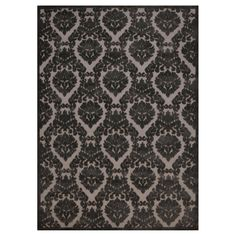 """Nourison Damask Ultima Accent Rug - Silver/Grey (3'6""""X5'6"""")"""