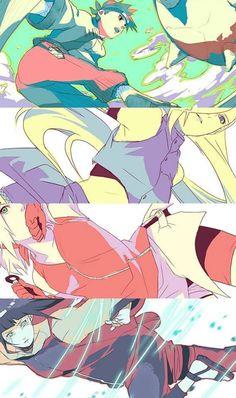 Tenten, Ino, Sakura, Hinata