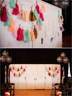 Bright and bold wedding with a lot of character! Captured By: Caroline Rentzel Photography #weddingchicks http://www.weddingchicks.com/2014/07/07/wedding-sign-palooza/