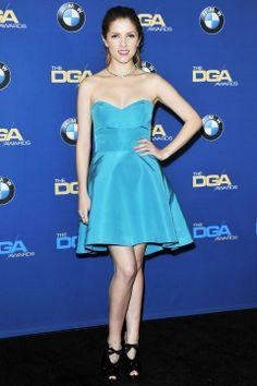Anna Kendrick in Monique Lhuillier   2014 Directors Guild Awards #DGAs