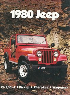 1980 Jeep CJ 7 Renegade in Vehicles