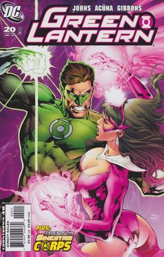 Hal Jordan, & Carol Ferris in Green Lantern Vol 4 #20 - Cover Art by Ivan Reis, Oclair Albert, & Moose Baumann