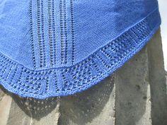 Ravelry: Meander Shawl pattern by Lotta Groeger Shawls, Fascinator, Ravelry, Crochet Top, Greek, Crafty, Architecture, Pattern, Gifts