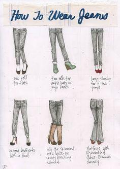 jeans fashion-sense