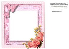 A lovely Incert in pink to make and compliment any card . there is a matching…