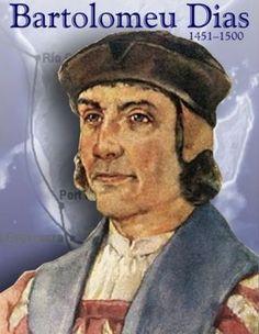 Bartolomeu Dias was een Portugees zeevaarder en ontdekkingsreiziger, die in 1488 als eerste Europeaan Kaap de Goede Hoop rondde. Daarmee bereidde hij de eerste tocht naar India door Vasco da Gama voor.