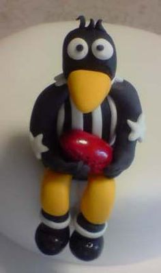 Collingwood Collingwood Football Club, Sport Cakes, Best Club, Great Team, Cake Decorations, Birthday Cakes, Food Art, Orlando, Originals