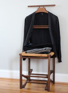 Moving Beyond That Organizational Crutch. Dressing ChairCrutchesBedroom  OrganizationMens Valet ...