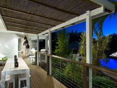 I like this idea for a covered deck - thinking it would be pretty inexpensive