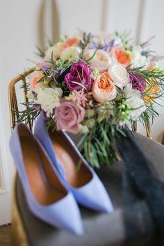 Colorful wedding details.