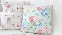 How To Make A Cath Kidston Patchwork Cushion
