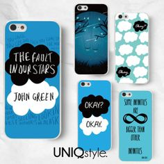 The Fault in Our Stars phone case John Green phone by Uniqstyle 7b33748be