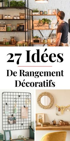 27 idées de rangements décoratifs chez Maisons du Monde