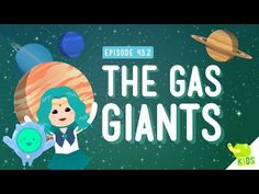 Gas Giants Weather Last time, we learned that there is in fact weather on other planets. But those were the rocky planets, like Earth. What about the big Gas Giants? What's the weather like there? In this episode of Crash Course Kids, Sabrina takes us on a virtual tour of the Gas Giants and shows us what kind of weather we can expect. By: Crash Course Kids.Support The Crash Course on Patreon