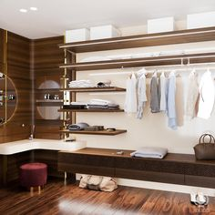 tolicci, interior design, luxury wardrobe, italian design, luxusny satnik, taliansky dizajn, navrh interieru, walk in closet Luxury Wardrobe, Walk In Closet, Entryway, Loft, Interior Design, Bed, Furniture, Home Decor, Entrance