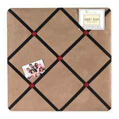 Sweet Jojo Designs Pirate Fabric Memo Board #tinytotties