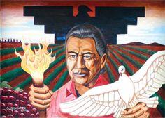 Labor leader Cesar Chavez. Born in Yuma.