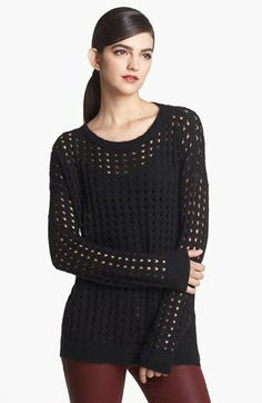 Trouvé Open Stitch Sweater | Nordstrom