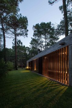 Image 25 of 25 from gallery of F House / Gianserra + Lima arquitectos. Design Exterior, Interior And Exterior, Casas Containers, Weekend House, Modern House Design, The Great Outdoors, Architecture Design, Pavilion Architecture, Modern Architecture House