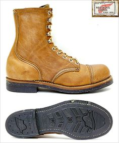 Real rare Red Wing Boots....   Raddest Men's Fashion Looks On The Internet…