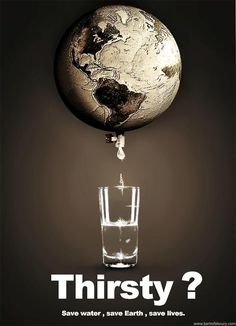 World Water Day poster. I like the strapline on ... | Protect our Pla…