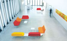 Office Seating: Working, meeting, relaxing