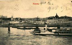 Dovidenia, viszontlátásra, auf Wiedersehen, Starý most! (26 veľkých fotografií) - Bratislavské rožky Bratislava, Louvre, Building, Movies, Movie Posters, Travel, Viajes, Films, Buildings