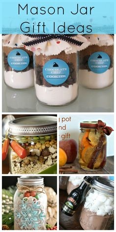 Mason Jar Gift Roundup from Creative Ramblings
