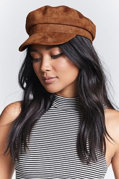 Product Name:Faux Suede Cabby Hat, Category:ACC, Price:14.9
