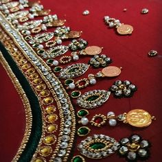 Wedding Saree Blouse Designs, Best Blouse Designs, Pattu Saree Blouse Designs, Dress Neck Designs, Peacock Embroidery Designs, Hand Work Blouse Design, Maggam Work Designs, Designer Blouse Patterns, Indian Embroidery