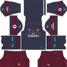 bebc4c75cdc Arsenal Away 2018-19 Dream League Soccer Kits URL 512x512 Soccer Kits,  Football Kits