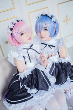 Re:Zero - Rem and Ram cosplay