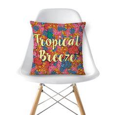Almofada Tropical Breeze de @jurumple | Colab55