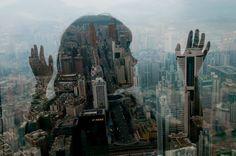 Des silhouettes urbaines  via : www.wikilinks.fr