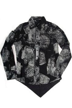 "LIP SERVICE R.I.P. ""Morbid Curiosity"" shirt #M14-009"