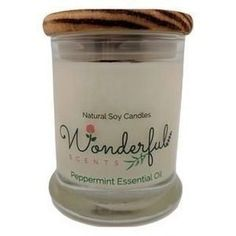 12 oz Hand Poured Soy Wax Candle Wood Wick Status Jar Wood or Tin Lid #candles #candle #soycandles #scentedcandles #melts #essentialoils #essentialoil #scents #fragrance #aromas #diffuser #natural #organic #aromatherapy #selfcare #selflove #healthy #gifts #giftsforher #relax #Wellbeing #wellness #HealthTips Soy Wax Candles, Candle Wax, Scented Candles, Essential Oils For Add, Essential Oil Candles, Paraffin Wax, Peppermint, Birthday Candles, Tin