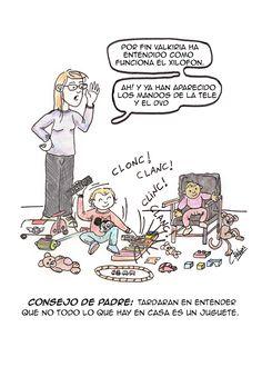 Consejos de padre - Viñeta 12 - C.Rabias