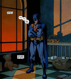 We know he's vengeance. We know he's the night. We know he's the Batman. But did you know, deep down, he's a big softie? Occasionally, DC Comics' most fearsome vigilante is also sweet, sensitive, and even sad. Yep, there are vulnerable, sad Batman moments, and you'll find them on this list of...