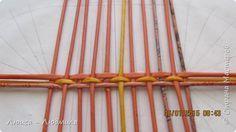 Мастер-класс Поделка изделие Плетение МК - овальное дно по-Ильфатовски Бумага газетная фото 3