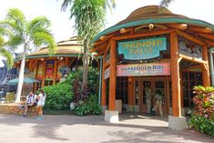 Our favorite Islands of Adventure Counter Service Restaurants.