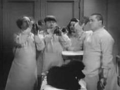 The Curly Shuffle video  I just love thos song, cause I love the 3 stooges!