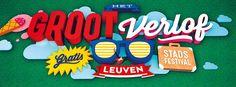 Niets leuker dan Het Groot Verlof denkt de stad Leuven. Summer in the city. Het zalige gevoel van 'het groot verlof' dat je een hele zomer lang kan vasthouden.  Begin vorige maand lanceerde de Stad Het Groot Verlof, het vernieuwde zomerconcept van de stad Leuven.Er werd toen ook al een eerste blik namen uit de programmatie opengetrokken.  De andere muzikale topnamen van de vrijdagavonden uit het programma kregen we vandaag te horen van schepen Dirk Vansina in het Radiohuis.  Zo werd de…