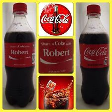 Share A Coke With Robert Limited Edition Coca Cola Bottle