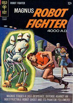 Magnus vs robot ghosts - The incredible artwork of magnus robot fighter