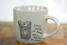 Grey La Bamba Dancing Bear mug. $25.00, via Etsy...... or anything from Corduroy, really.