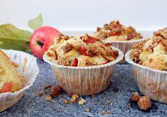 Äppelmuffins med kolacrumble